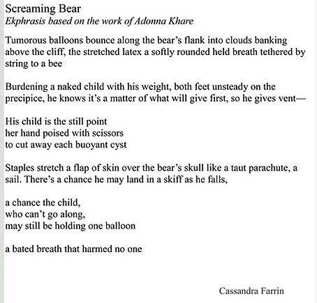 Farrin-Screaming Bear poem only