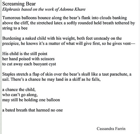 Farrin-Screaming Bear poem only