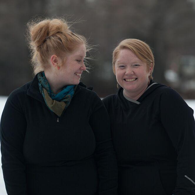 Cassandra and Rebecca Farrin